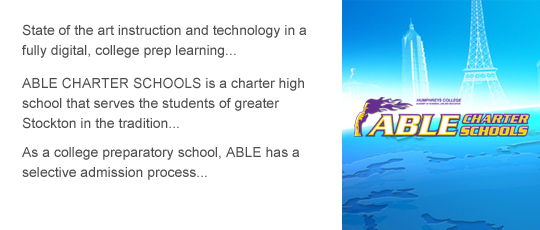 State of the art instruction and technology in a fully digital, college prep learning environment.