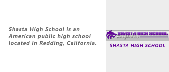 SHASTA HIGH SCHOOL